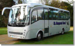 Stansetd Airport coach hire - new addition to fleet. Click for zoomed image.