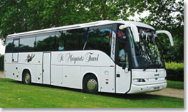 Stansted Airport coach hire - new addition to fleet.