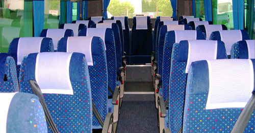 Cheshunt coach hire example